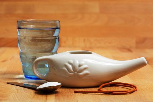 Rituel pour éviter le rhume de sinus
